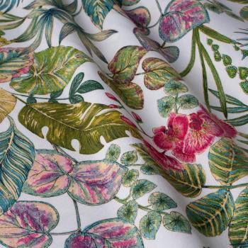 Купить ткань для штор с цветами как должны сидеть тайтсы