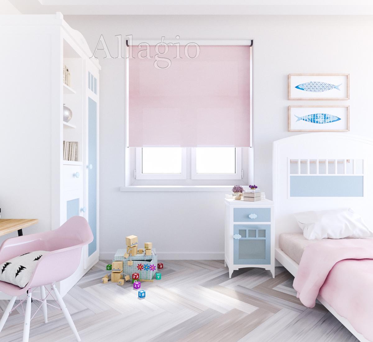 Рулонные шторы для девочки в детскую Allagio.ua