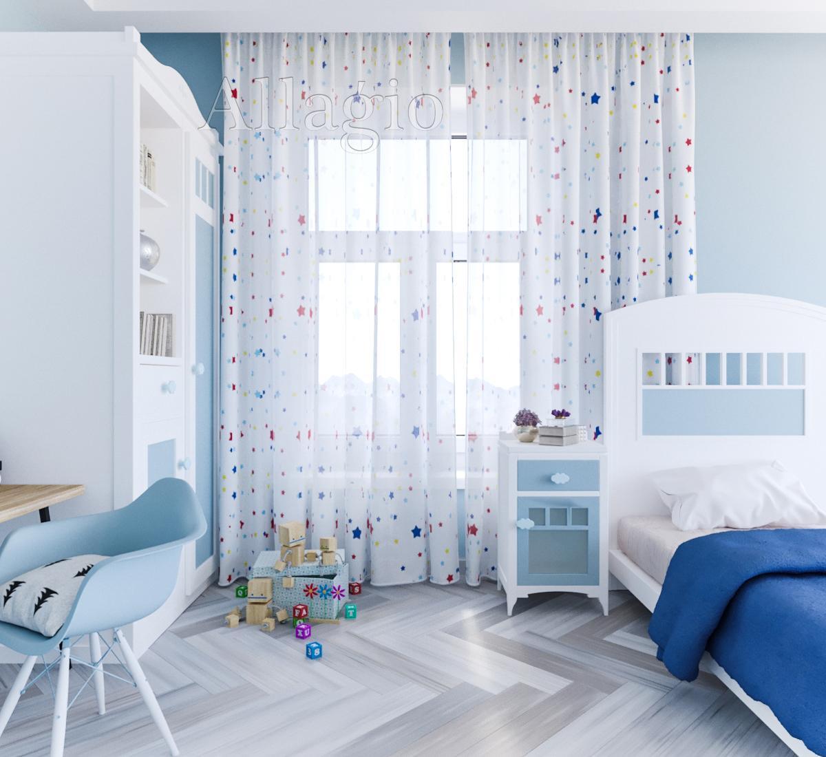 Шторы для детской комнаты Allagio.ua